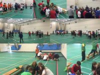 Year 6 Transition Day in the PE Dept.