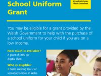Welsh Government School Uniform Grant