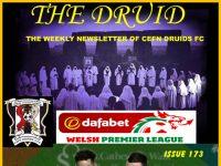 Cefn Druids FC Newsletter 173