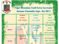 5×60 Sports Timetable Autumn 2017