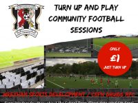 """Turn Up And Play"" Community Football Sessions"